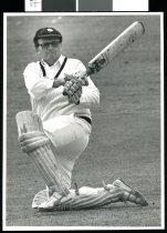 Image of Glenn (Jock) Ritchie, cricket  - Timaru Herald Photographs, Personalities Collection