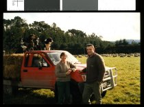 Image of Colleen and Alistair Roberts, sheep farmers - Timaru Herald Photographs, Personalities Collection