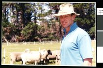 Image of Eric Ross, farmer - Timaru Herald Photographs, Personalities Collection