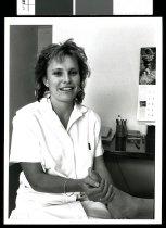 Image of Catie Rowe, podiatrist - Timaru Herald Photographs, Personalities Collection