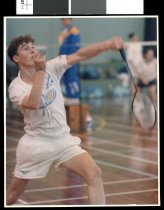 Image of Chris Roy, badminton player - Timaru Herald Photographs, Personalities Collection