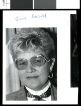 Image of June Russell - Timaru Herald Photographs, Personalities Collection
