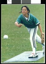 Image of Kristal Russell, softball player - Timaru Herald Photographs, Personalities Collection
