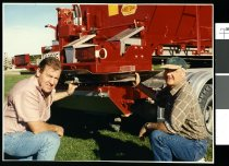 Image of Gerald Ruston and Doug George - Timaru Herald Photographs, Personalities Collection