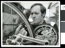 Image of Jim Ryder, cyclist - Timaru Herald Photographs, Personalities Collection