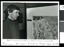 Image of Graham Sanders, Aigantighe Art Gallery - Timaru Herald Photographs, Personalities Collection