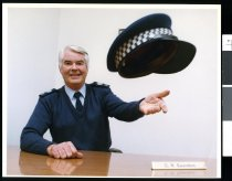 Image of Police Senior Sergeant Geoff Saunders  - Timaru Herald Photographs, Personalities Collection