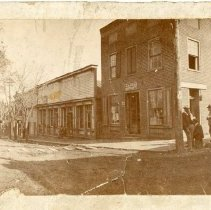 Image of Corner of Main and Roanoke Streets, Fincastle, Virginia - 2009.1.153