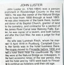 "Image of ""John Luster"" - 2009.1.165"