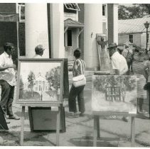 Image of Sidewalk Art Show - 2009.1.193