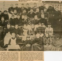 Image of Fincastle Female Institute class of 1891-92