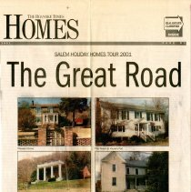 "Image of Newspaper article titled ""The Great Road"" - 2009.1.587"