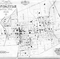 Image of Gray's New Map of Fincastle, 1880 - 2009.1.344