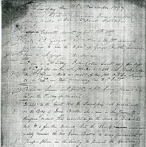 Image of Botetourt County Minute Book, 1796-99 - 2009.1.485