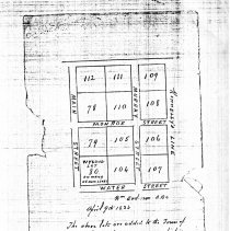 Image of New Plots in Town of Fincastle, 1824 - 2009.1.511