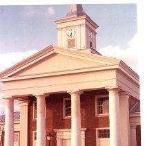 Image of Botetourt County Courthouse Under Restoration - 2009.1.535