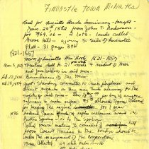 Image of Excerpts from Town of Fincastle Minutes Book 1821-1857 - 2009.1.541