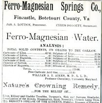 Image of Advertisement for the Ferro-Magnesium Springs Co. - 2009.1.556