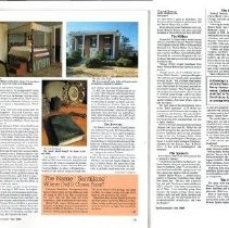 "Image of Newspaper article titled ""Santillane:  200 Years of History in Fincastle"" - 2009.1.581"