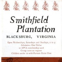 "Image of ""Smithfield Plantation"" - 2009.1.660"