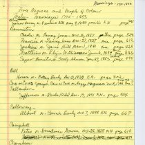 Image of Notes on Marriages of Free Negroes and People of Color 1770-1853 - 2009.1.737