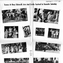 Image of Sidewalk Arts and Crafts Festival 1969 - 2009.1.290