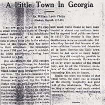 "Image of ""A Little Town in Georgia"" - Georgia006.001"