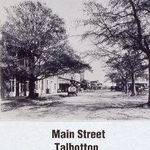 Image of Slide: Main St. Talbotton, Ga.