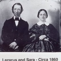 Image of Slide: Lazarus and Sara Straus circa 1860