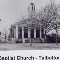 Image of Slide: Baptist Church-Talbotton