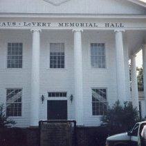 Image of Slide: Straus-LeVert Memorial Hall