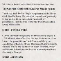 Image of Georgia Roots Presentation Page 1