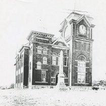 Image of County Court House, Talbotton - Georgia029.007