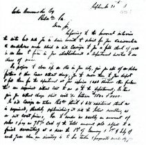 Image of Letter: I. Straus to J. Wanamaker (1878?) 3 pages