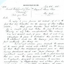 Image of Letter-Wedgewoofd to L. Straus and Sons (1882)