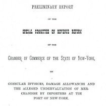 Image of Preliminary Report May 1884 (5 pages)