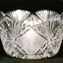 Image of L. Straus & Sons Cut Glass Bowl in Imperial Pattern - L.S&S064.001