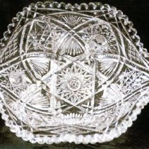 Image of L. Straus & Sons Cut Glass Bowl in Hermione Pattern - L.S&S064.006