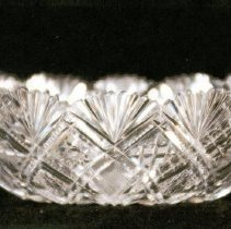 Image of L. Straus & Sons Cut Glass Bowl in Gloria Pattern - L.S&S064.008