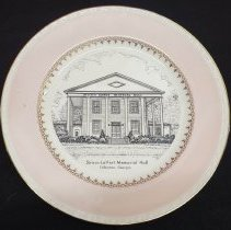 Image of Straus LeVert Hall Porcelain Plate - Georgia007.006