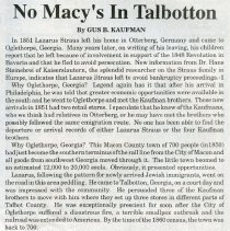"Image of ""No Macy's in Talbotton"" - Georgia016.002"