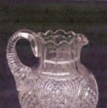 Image of L. Straus & Sons Cut Glass Cream Jug - L.S&S064.011