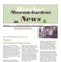 "Image of ""Directors Corner"" from the Hershey Museum-Gardens News - L.S&S066.001"