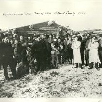Image of Mcguire logging camp