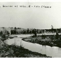 Image of Source of Mississippi River, Lake Itasca - Source of Mississippi River, Lake Itasca