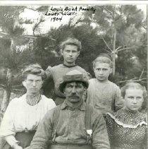 Image of Louis Bush Family - Louis Bush Family of lower LaSalle, 1904.