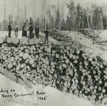 Image of North Cormorant River Log Landing