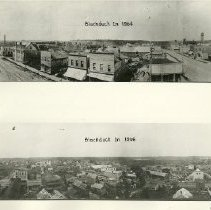 Image of Ariel Views of Blackduck - Blackduck, 1904 and 1906 (2 different pictures)