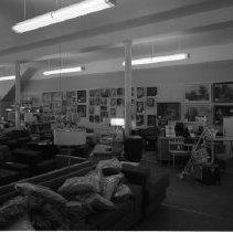 Image of Furniture Mart - Interior of Furniture Store - perhaps Reuter Furniture Mart, June 1960.