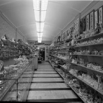 Image of Lindman's Jewelry Store, Bemidji - Lindman's Jewelry, 320 Beltrami Avenue, Bemidji. Owned by Larry and Martha Lindman. June 1960.